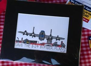 Miles Art Work - Willow Run Bomber Plant